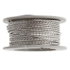 Twisted Artistic Wire 3Yd 20ga Non-tarnish Silver